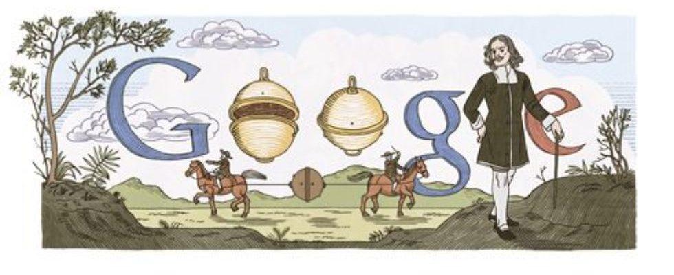 Google Doodle von heute: 410. Geburtstag von Otto von Guericke