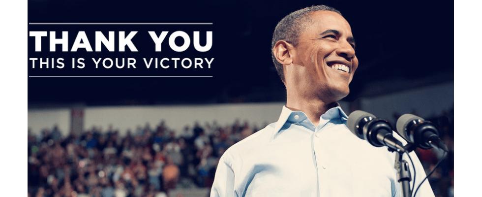 Wie sich Obama den Sieg und einen Weltrekord holt