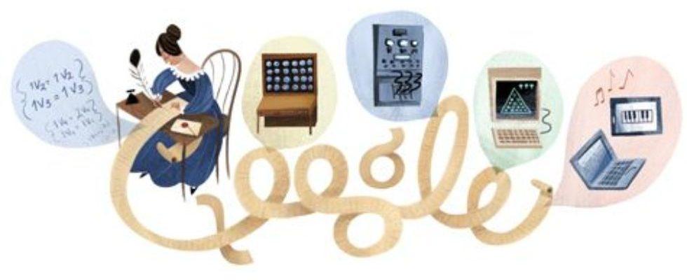 Google Doodle von heute: Ada Lovelaces