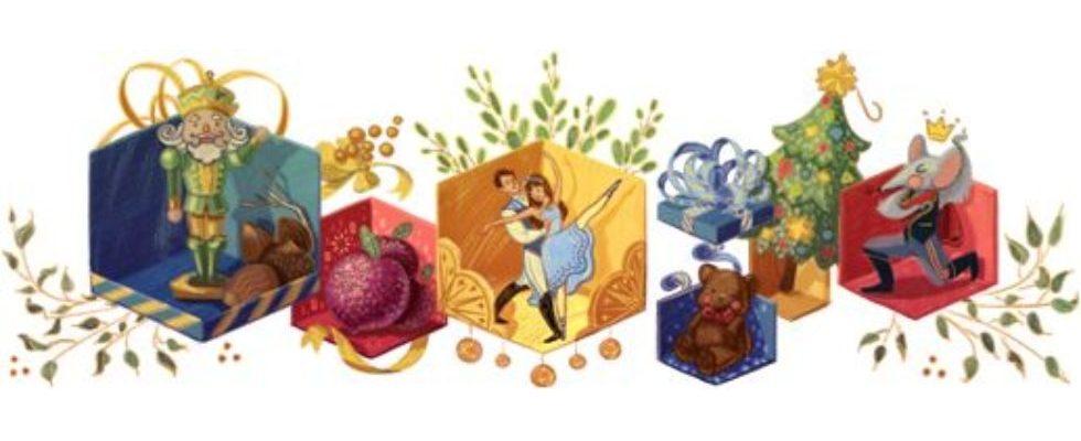 Google Doodle von heute: Der Nussknacker