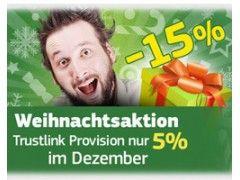 Weihnachtsaktion von Trustlink