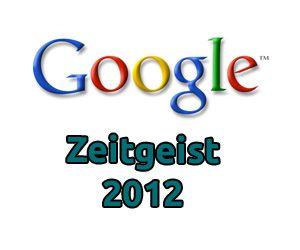 Wonach Deutschland sucht: Google Zeitgeist 2012