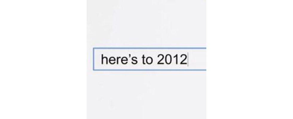 Jahresrückblick: Der Google Zeitgeist 2012