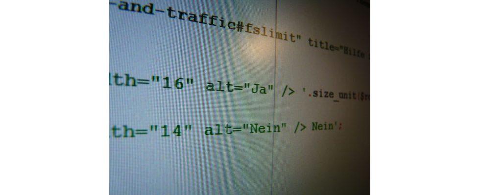 Infografik: HTML-Cheat-Sheet fürs Online-Marketing