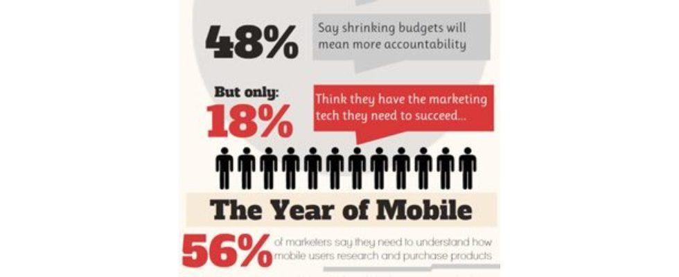 Umfrage: die digitalen Marketing-Trends 2013