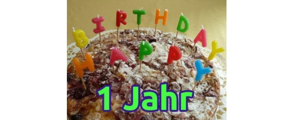 OnlineMarketing.de feiert seinen 1. Geburtstag