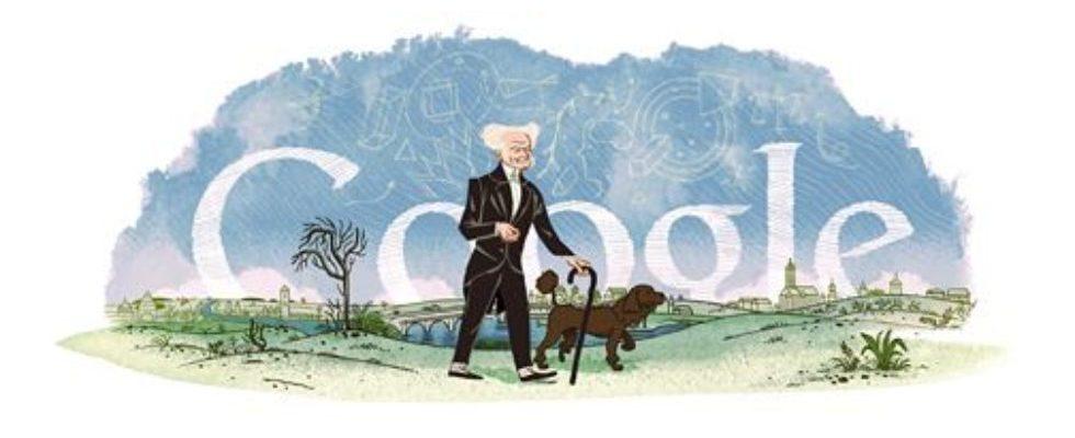 Google Doodle von heute: Arthur Schopenhauer