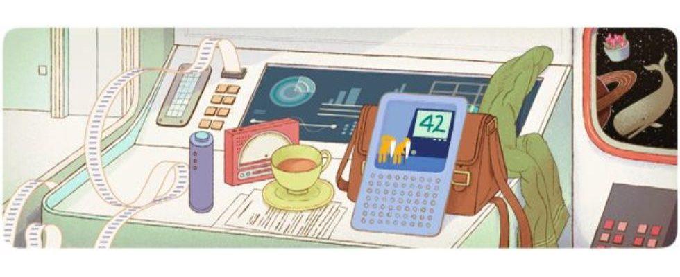 Google Doodle von heute: Douglas Adams