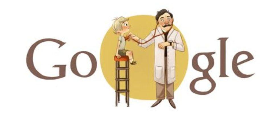 Google Doodle von heute: Adalbert Czerny