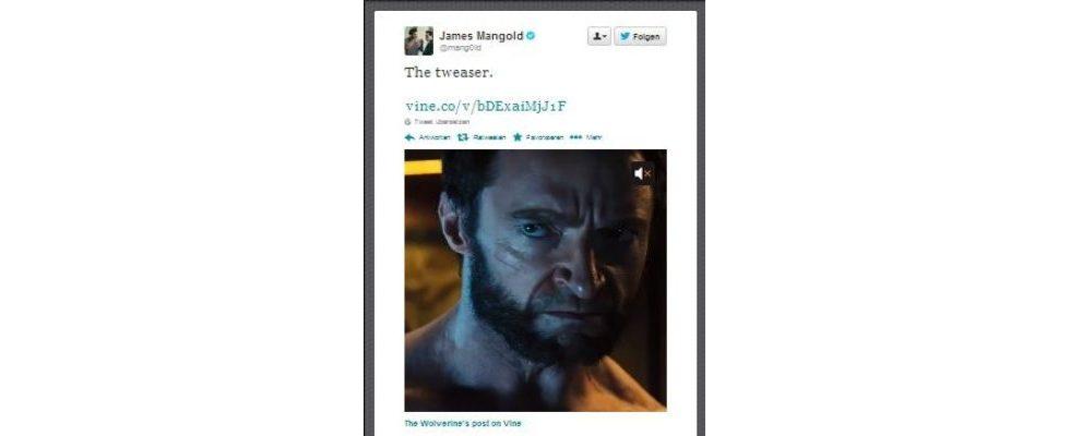 """""""The Wolverine"""" feiert Trailer Premiere bei Vine"""