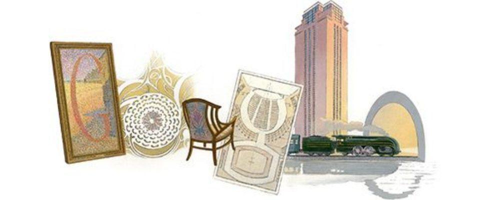 Google Doodle von heute: Henry van de Velde