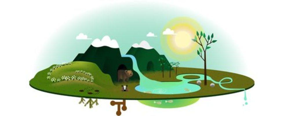 Google Doodle von heute: Tag der Erde 2013