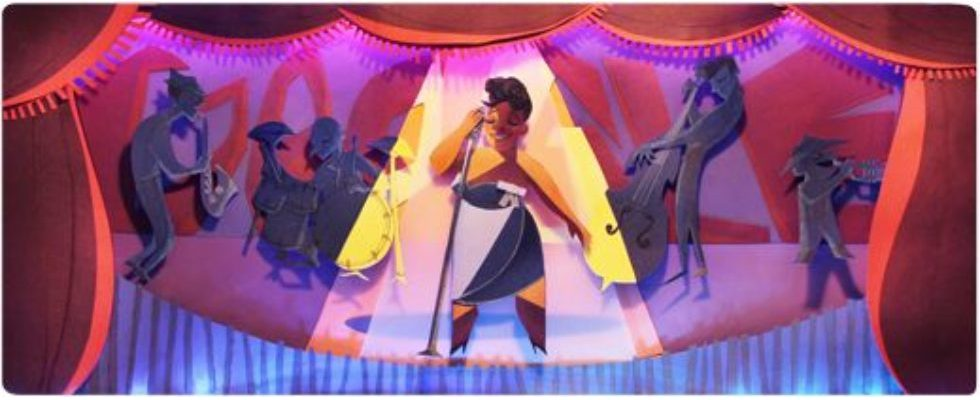 Google Doodle von heute: Ella Fitzgerald