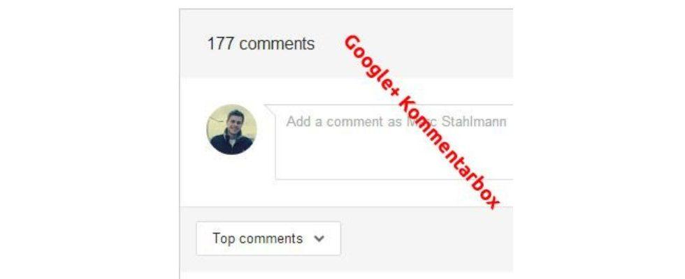 So baut ihr die neue Google+ Kommentarfunktion auf jeder Webseite ein