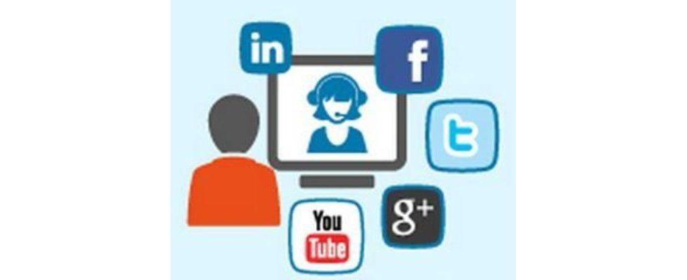 Infografik: Unternehmen und Social Media