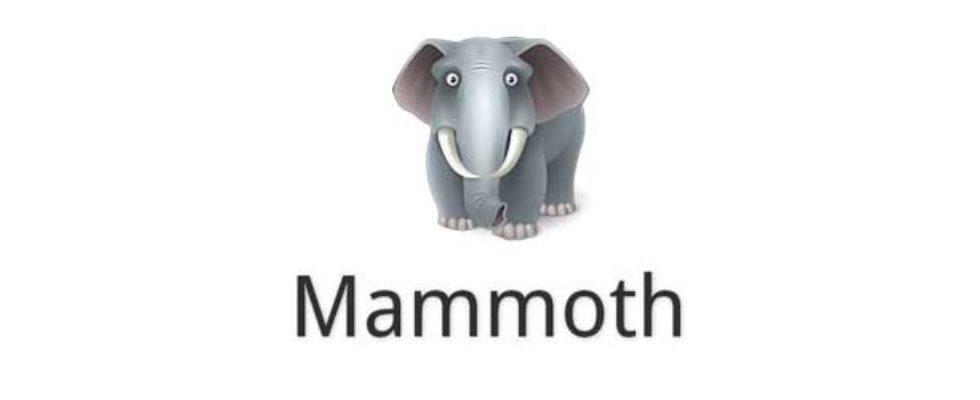"MammothHq: ""The next big thing""? Wohl eher nicht"