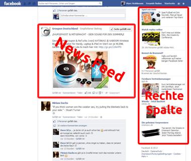Facebook Rechte
