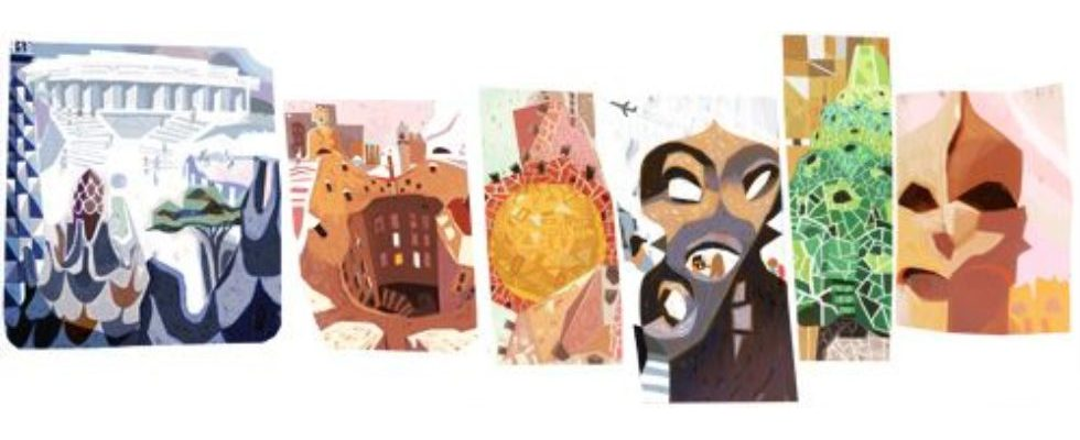 Google Doodle ehrt Architekten Antoni Gaudí