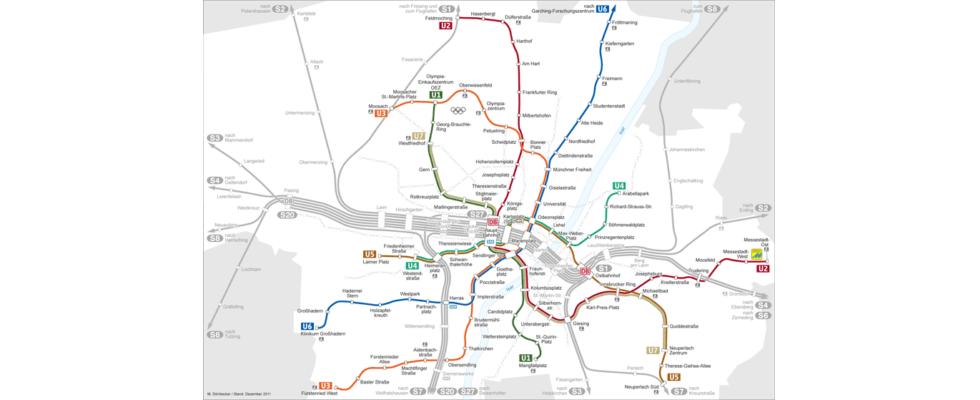 Die Streckenkarte fürs Online-Marketing