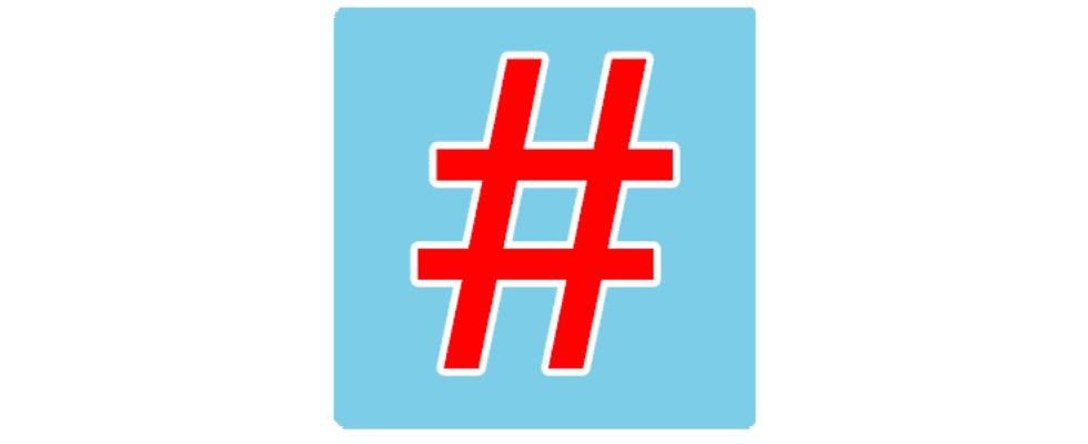 Infografik: So haben sich die Hashtags entwickelt