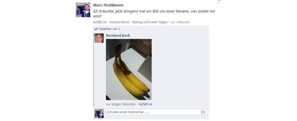 Foto-Kommentare sind neuer Blickfang bei Facebook