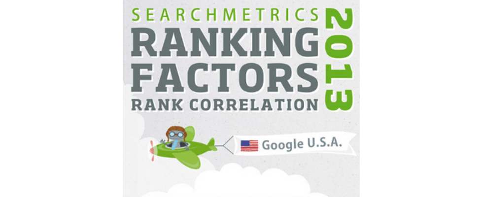 SearchMetrics: SEO Ranking Faktoren für 2013