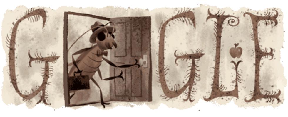 Google Doodle von heute: Franz Kafka