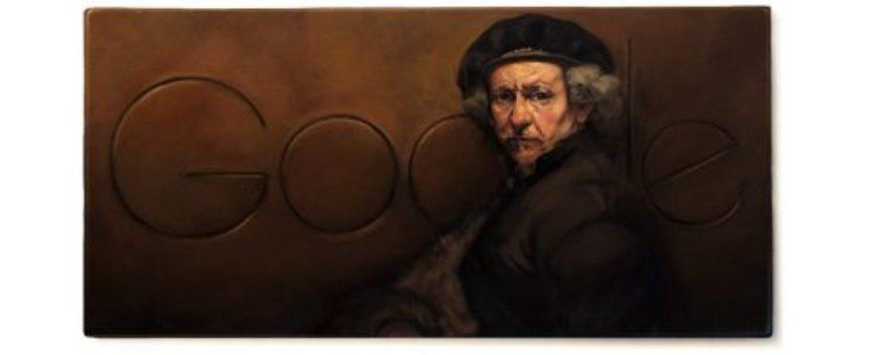 Google Doodle von heute: Rembrandt van Rijn