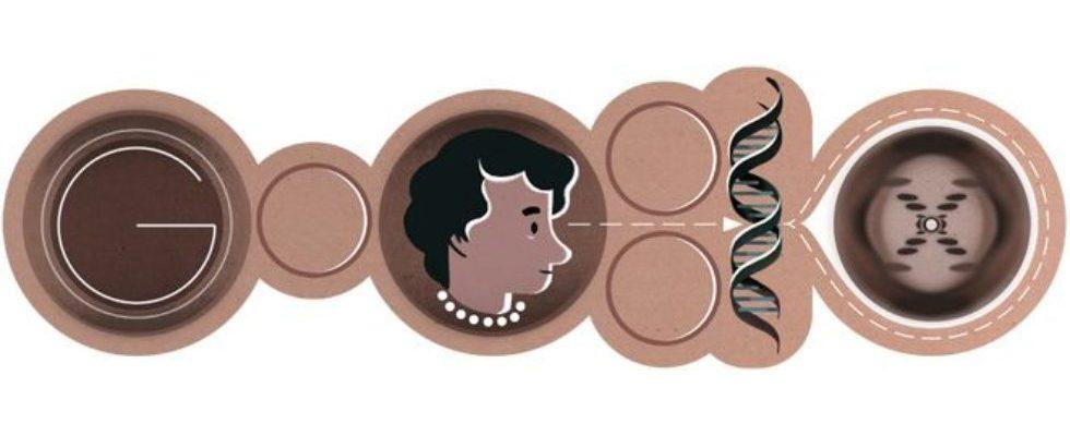 Google Doodle von heute: Rosalind Franklin