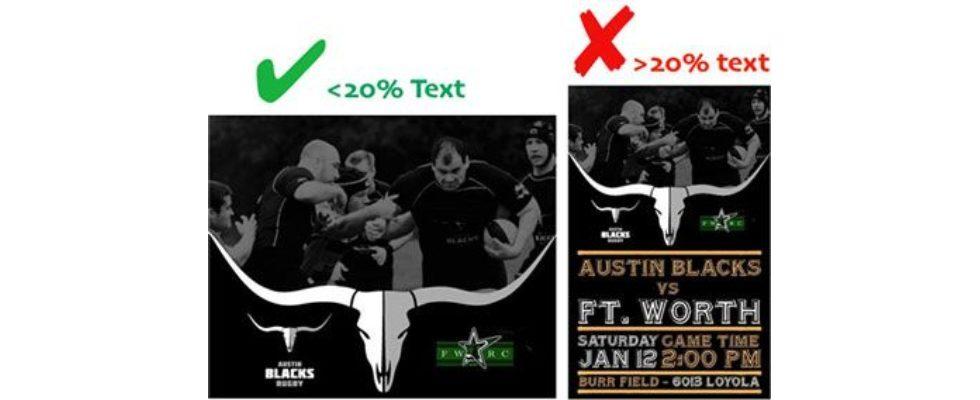 Facebook: Text-Beschränkungen sind aufgehoben – die 20-Prozent-Regel für Titelbilder fällt weg