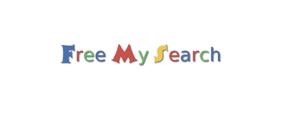 """Das wird Google nicht gefallen: Neuer AdBlocker für die SERPs """"Free My Search"""""""