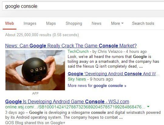 Neue Google-Ansicht?