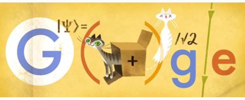 Google Doodle von heute: Erwin Schrödinger