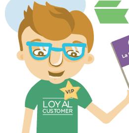 Infografik: Neukundengewinnung vs. Loyalitätsprogramme