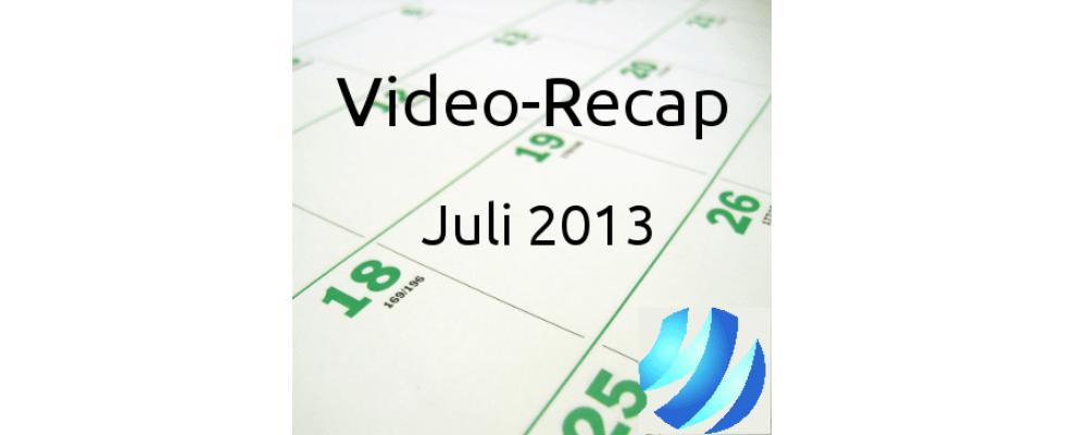 Video: Monatsrecap Juli 2013