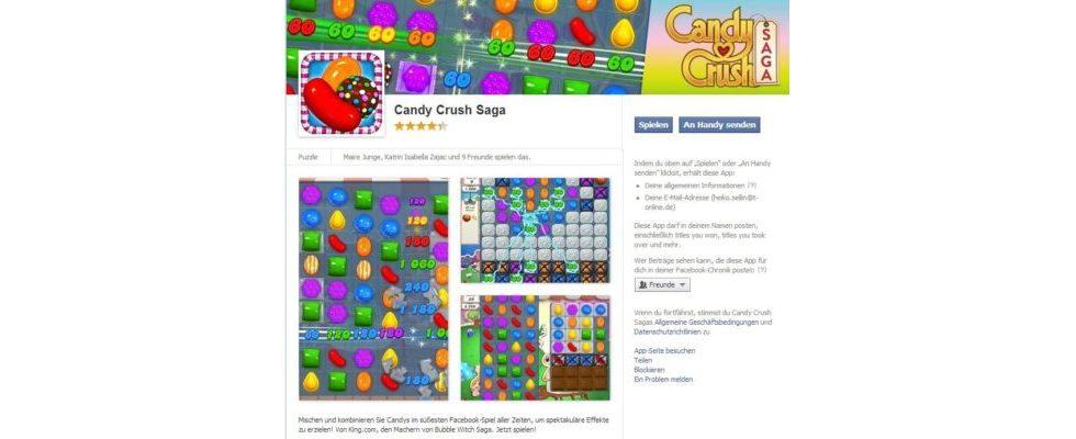 927 Millionen Stunden verbringen User monatlich mit Facebook-Games