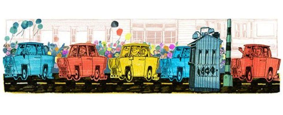 Google Doodle von heute: Tag der Deutschen Einheit