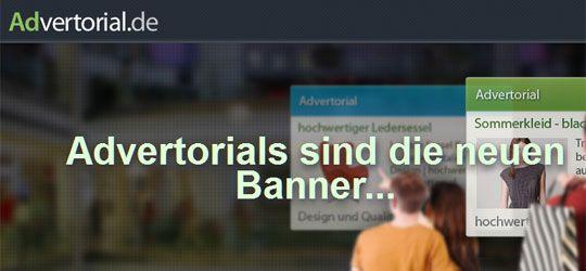 advertorial.de screen