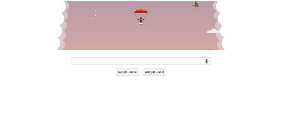 Google Doodle von heute: André-Jacques Garnerin