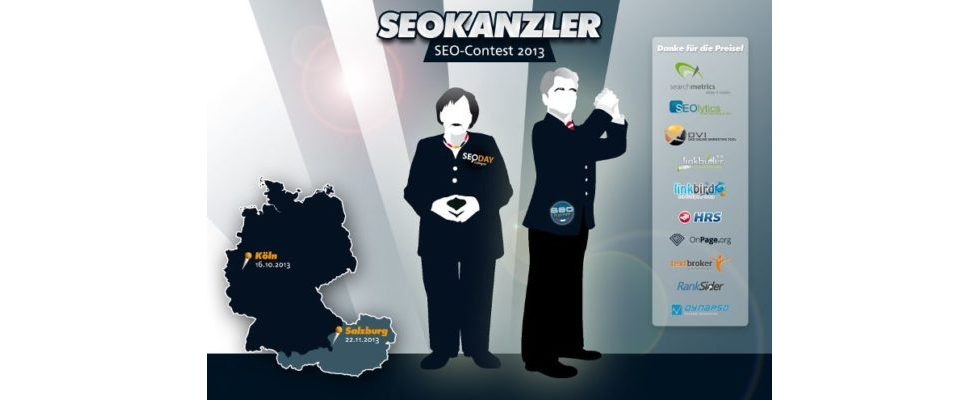 SEOKANZLER gesucht: Großer SEO-Contest mit vielen Preisen