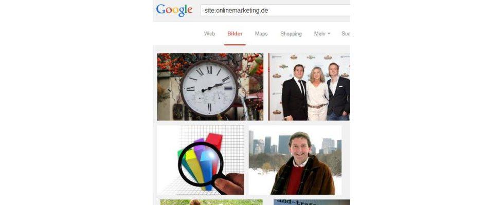Google Authorship jetzt in der Bildersuche