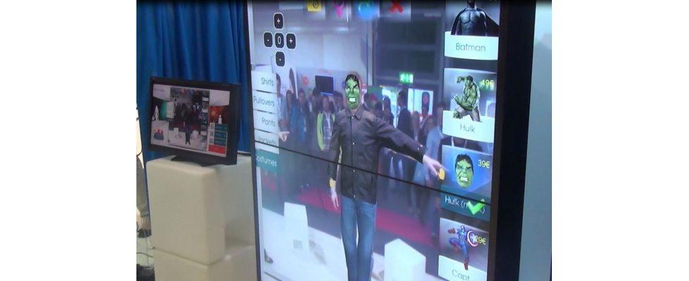 """""""Ein digitaler Ankleideraum – der Virtual Fitting Room ist das Shoppen der Zukunft"""" – Bernd Schlösser, IBM"""