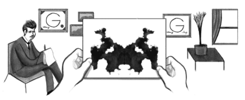 Google Doodle von heute: Hermann Rorschach