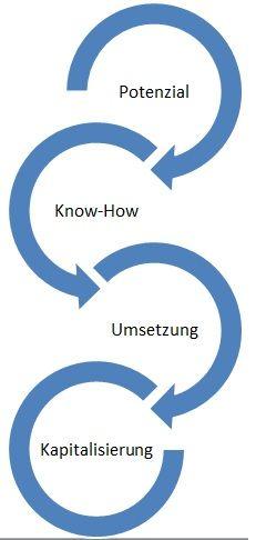 Bild zeigt Prozess zum Effektiven Einsatz von Gamification