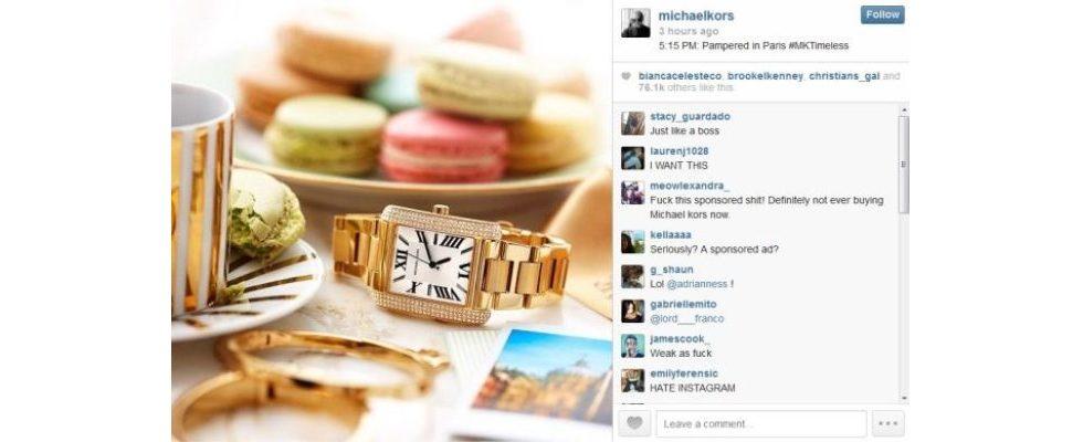 Die erste Sponsored Ad ist auf Instagram erschienen