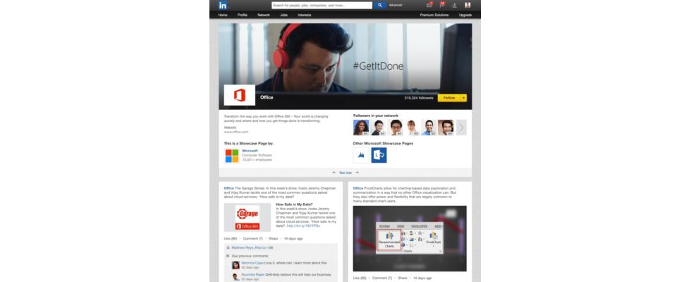 LinkedIn Showcase Pages verbessern die Unternehmenskommunikation