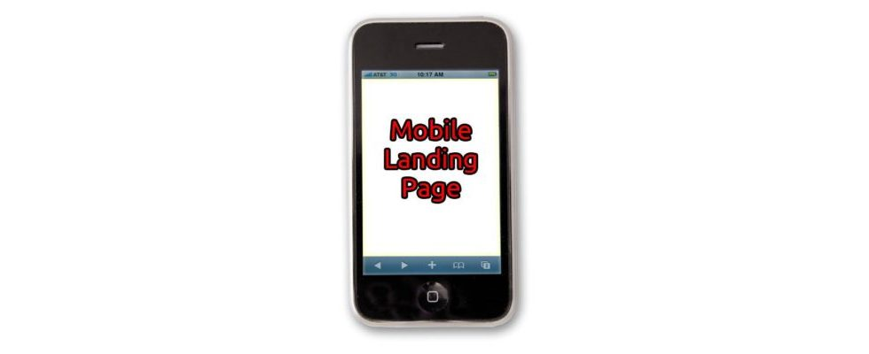 Best Practices für mobile Landing Pages