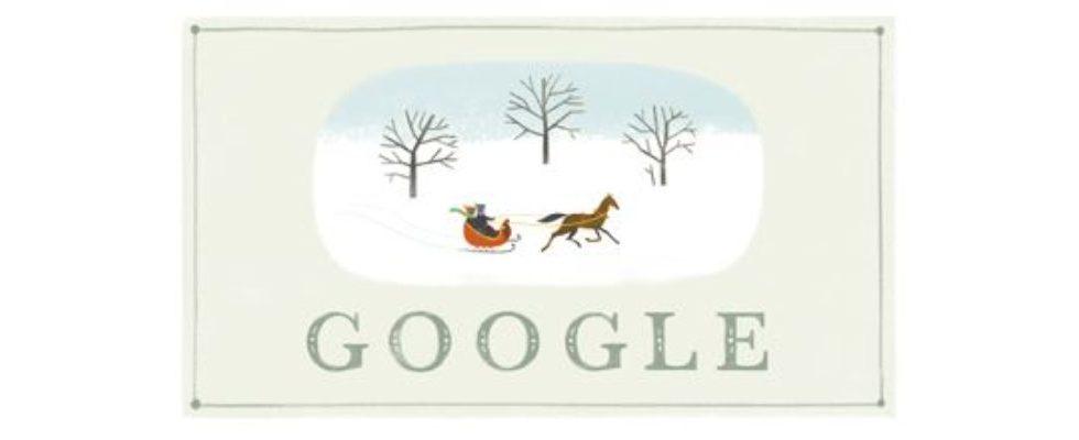 Google Doodle von heute: Frohes Fest