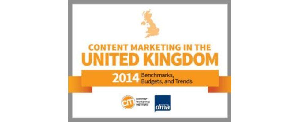 Content Marketing: In Kinderschuhen auf dem Vormarsch