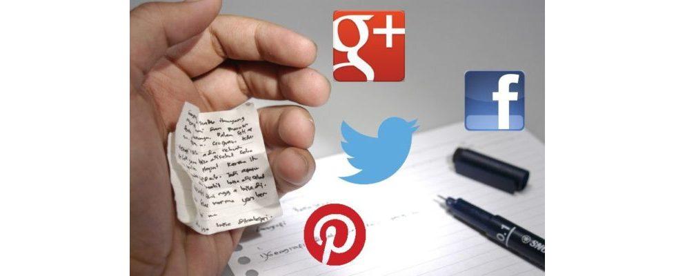 Der Social Media Sizing Cheat Sheet 2014: In welcher Größe lade ich das Bild am besten hoch?